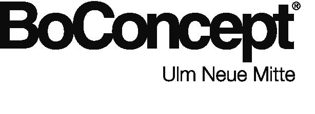 Logo BoConcept Claim UlmNeueMitte black