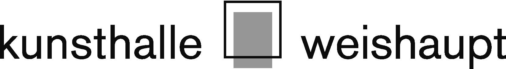 Logo kunsthalle weishaupt pos sw